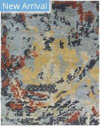 Famous Maker Ingrid 100252 Blue Tones/Multi Area Rug