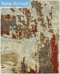 Famous Maker Ingrid 100253 Multi Abstract Area Rug