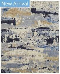 Kalaty Polaris Po-015 Blue Tones Area Rug