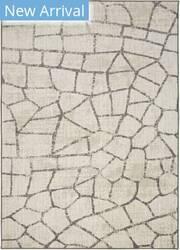 Karastan Simpatico Fragment Cream Area Rug