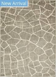 Karastan Simpatico Fragment Silver Area Rug