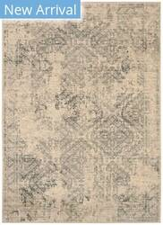 Karastan Titanium Perth Ivory - Light Beige Area Rug