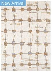 Karastan Artisan Equilibrium Antique White - Brushed Gold Area Rug
