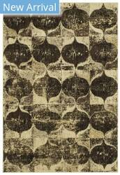 Karastan Expressions Iconograph Black Area Rug