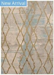 Karastan Cosmopolitan Andante Antique White - Gold Area Rug