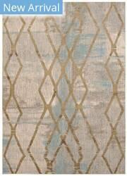 Karastan Cosmopolitan Andante Antique White - Gold Area Rug