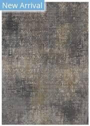 Karastan Tryst Botan Anthracite - Grey Area Rug