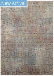 Karastan Tryst Botan Cream - Light Grey Area Rug