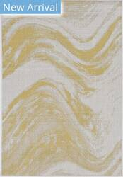 Kas Provo 5764 Ivory - Gold Strokes Area Rug