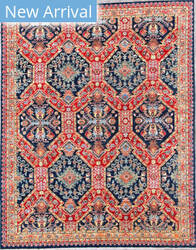 Kashee Vintage OAK Blue Area Rug