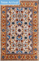 Kashee Tabriz OAK Grey - Gold Area Rug