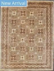 Kashee Taro OAK Ivory - Brown Area Rug