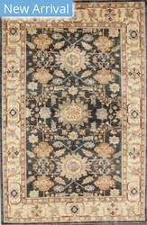 Kashee Taro OAK Dark Grey - Ivory Area Rug