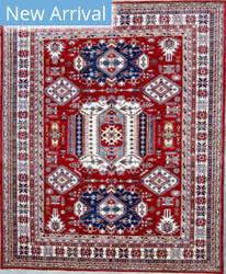 Kashee Royal Kazak OAK Rust - Ivory Area Rug