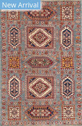 Kashee Royal Kazak OAK Grey Area Rug