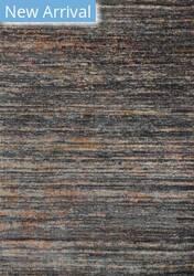 Rugstudio Sample Sale 153791R Slate - Orange Area Rug