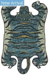 Loloi Feroz Fer-03 Teal Area Rug