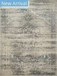 Rugstudio Sample Sale 181636R Taupe - Ivory Area Rug