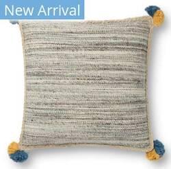 Loloi Justina Blakeney Pillows P0804 Blue - Multi Area Rug