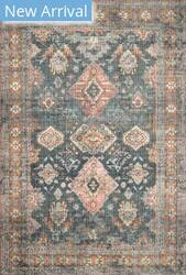 Loloi II Skye Sky-10 Sea - Rust Area Rug