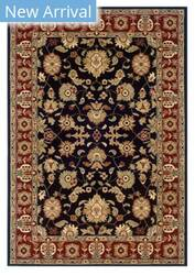 Rugstudio Sample Sale 179308R Black - Red Area Rug