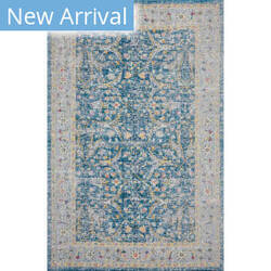 Lr Resources Antiquity 81455 Blue - Yellow Area Rug