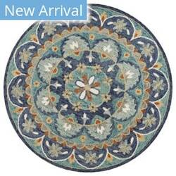 Lr Resources Dazzle 54099 Blue Area Rug