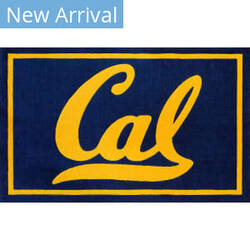 Luxury Sports Rugs Team UC Berkeley Navy Area Rug