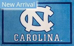 Luxury Sports Rugs Team University Of North Carolina Blue Area Rug