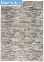 Michael Amini Uptown UPT01 Grey - Ivory Area Rug