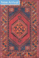 Momeni Afshar AFS16 Red Area Rug