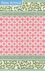 Momeni Under A Loggia UND-4 Pink Area Rug
