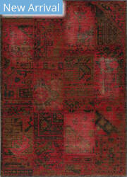 Rugstudio Sample Sale 162595R Raspberry Area Rug