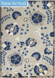 Nourison Aloha Alh17 Natural - Blue Area Rug