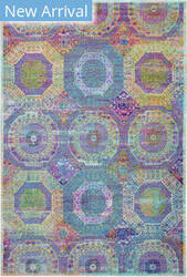 Nourison Ankara Global Anr05 Multicolor Area Rug