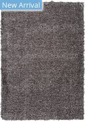 Nourison Ultra Plush Shag Ulp01 Charcoal Area Rug