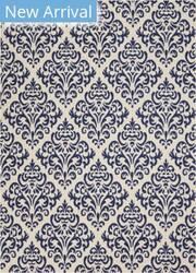 Nourison Grafix Grf06 White Blue Area Rug
