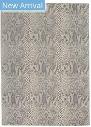 Nourison Solace Sla06 Ivory - Grey Area Rug