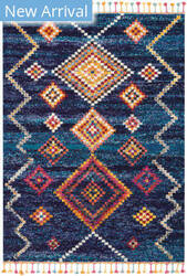 Nourison Nomad Nmd05 Navy Area Rug