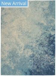 Nourison Passion Psn10 Navy - Light Blue Area Rug