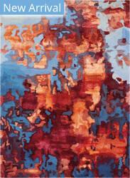 Nourison Prismatic Prs13 Blue Flame Area Rug