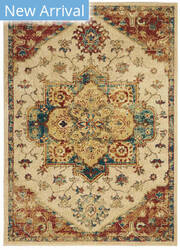 Nourison Traditional Antique Trq01 Ivory Area Rug