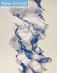 Nourison Twilight Twi27 Ivory Blue Area Rug