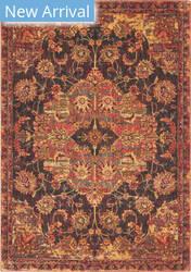 Nourison Jewel Jel01 Ember Red Area Rug