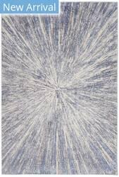 Nourison Silky Textures Sly05 Blue - Grey Area Rug