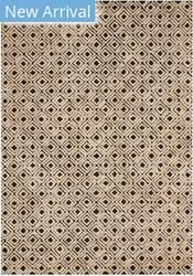 Nourison Modern Deco Mdc02 Black - Beige Area Rug