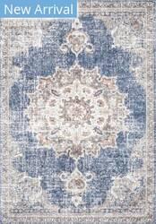 Famous Maker Vintage Tabitha Blue Area Rug
