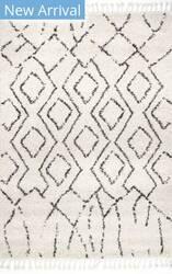 Nuloom Erin Moroccan Diamond Off White Area Rug