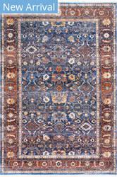 Famous Maker Vintage Audria Blue Area Rug