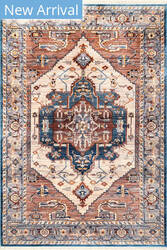 Nuloom Tanya Vintage Brown Area Rug